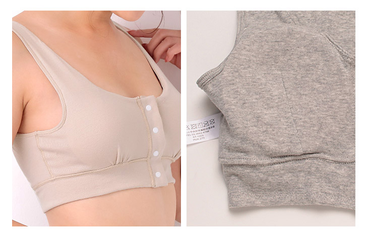 優しい肌触りの胸帯(乳がんブラジャー)