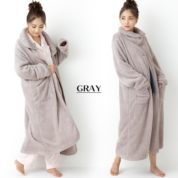 大人の着る毛布(グレー)